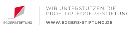 Wir unterstuetzen die Prof. Dr. Eggers Stiftung